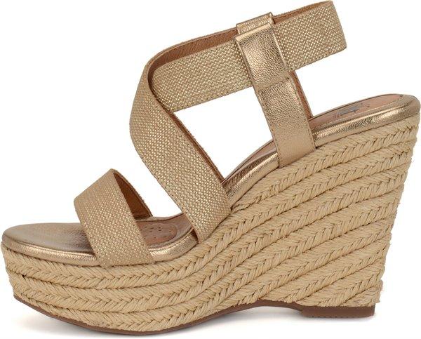 Image of the Perla shoe instep