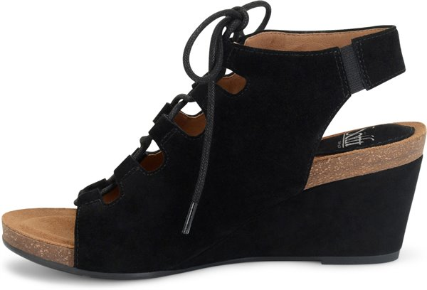 009b3a1a2aca Sofft Womens Product Maize - Black-Suede