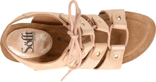 Image of the Carita shoe from the top
