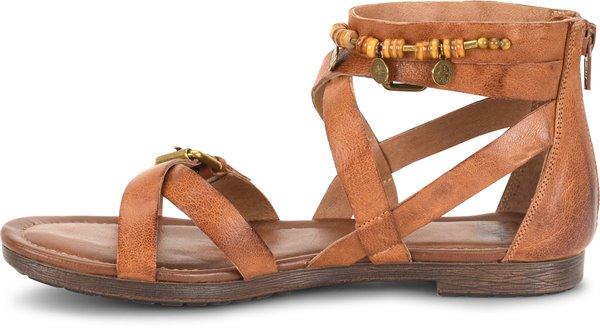 Image of the Boca shoe instep