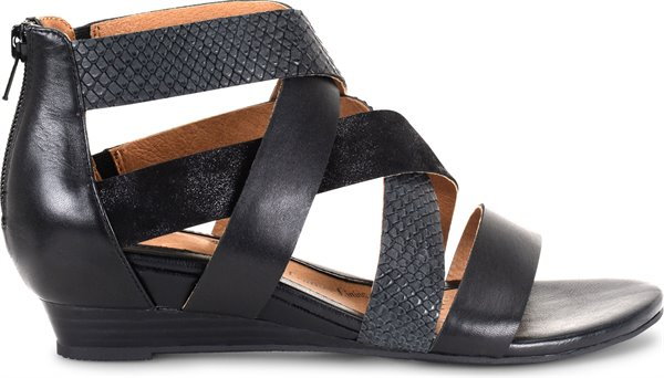 Image of the Rosaria shoe from the side