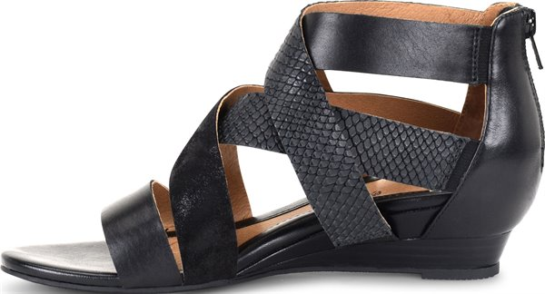 Image of the Rosaria shoe instep