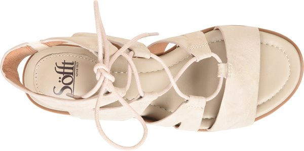 Image of the Madera shoe from the top