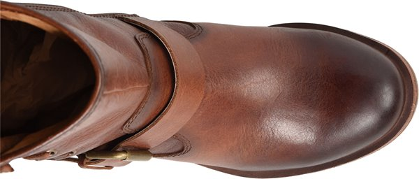 Image of the Belmont shoe from the top