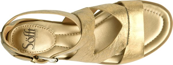 Image of the Mirabelle shoe from the top
