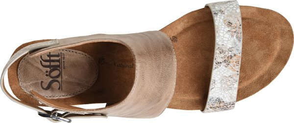 Image of the Vanita shoe from the top