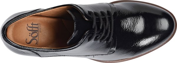 Image of the Patience shoe from the top