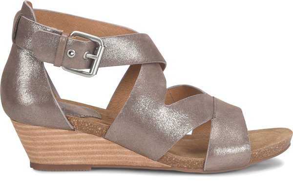 Sofft Womens Product Vara Metallic Taupe