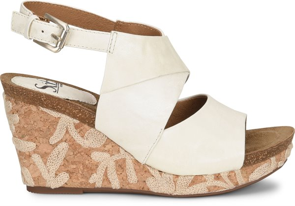 Image of the Corrina shoe from the side