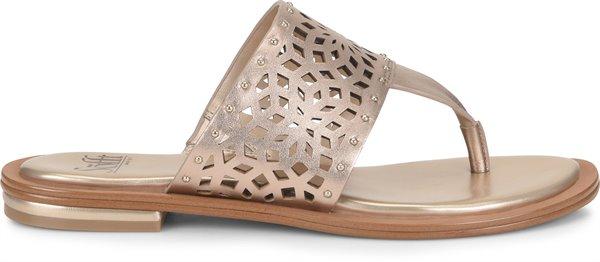 Image of the Mayela shoe from the side