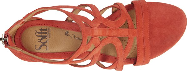 Image of the Malindi shoe from the top