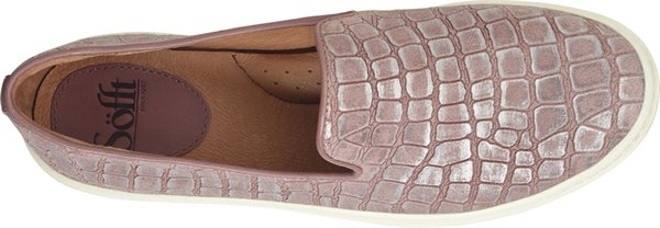 Image of the Somers-Slip-On shoe from the top