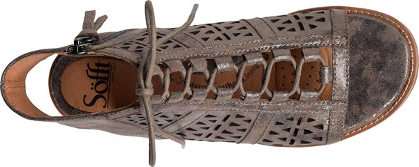 Image of the Nora shoe from the top
