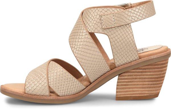Image of the Pesha shoe instep