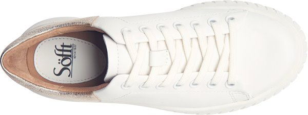 Image of the Parkyn shoe from the top