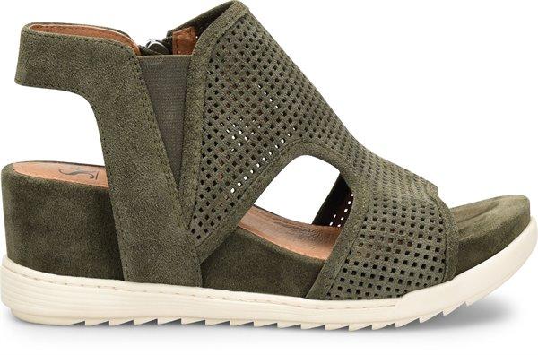 Image of the Shandi shoe from the side