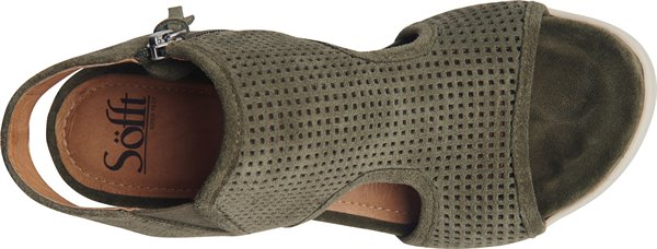 Image of the Shandi shoe from the top