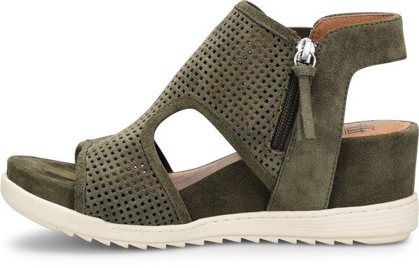 Image of the Shandi shoe instep