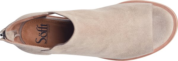 Image of the Carleigh shoe from the top