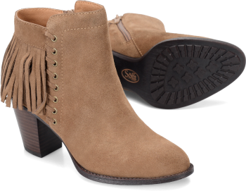 Winters in Havana Brown Suede