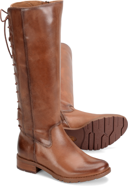Retro Boots, Granny Boots, 70s Boots Sofft Sharnell  Whiskey - Womens $199.95 AT vintagedancer.com