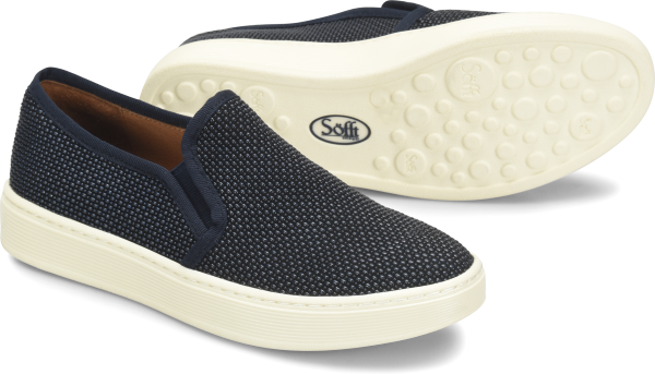 Sofft Somers : Navy Suede