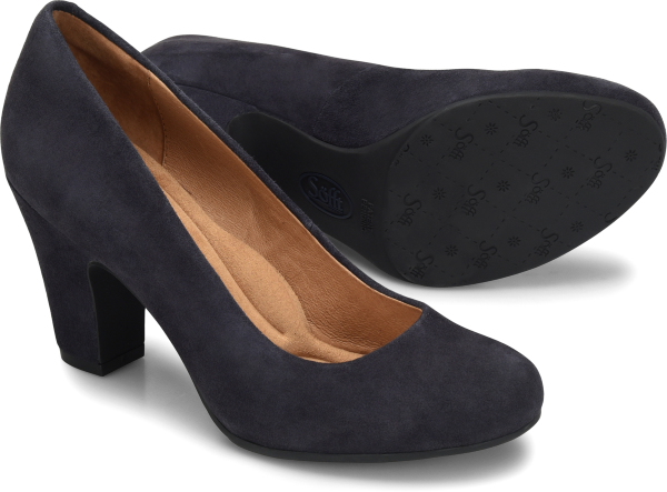 Sofft Madina : Navy Suede