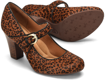 Miranda in Cognac Mini Leopard