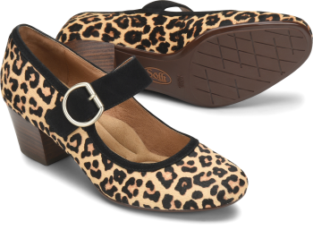 Lorna in Leopard Tan
