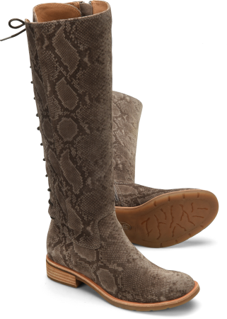 Sharnell-II in Taupe Snake