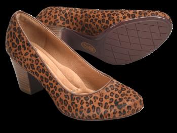 Myka in Cognac Leopard