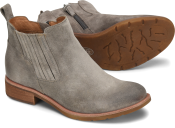 Bellis-II in Grey Suede