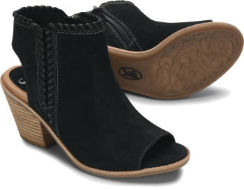 Maleigha in Black Suede