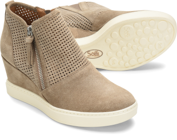Bellview in Light Taupe Suede