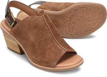 Pelonia in Light Brown Suede