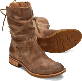 Sharnell-Low in Tan Brown