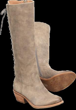 Sharnell-Heel in Dark Cashmere
