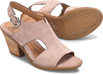 Maben in Lilac Suede