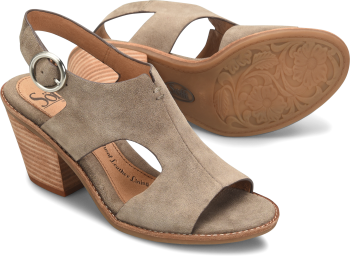 Maben in Taupe Suede