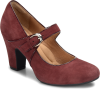 Shoe Color: Aubergine-Suede
