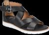 Shoe Color: Black-Leather