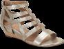 Shoe Color: Satin Gold