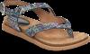 Shoe Color: Blue-Multi