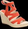 Shoe Color: Red-Suede