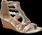 Shoe Color: Satin-Gold