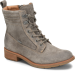 Shoe Color: Grey-Suede