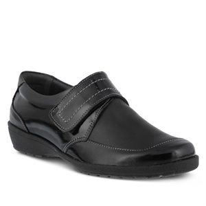 Black Patent Spring Step Darby
