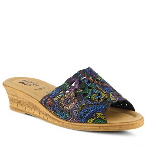 Black Multi Spring Step Estella