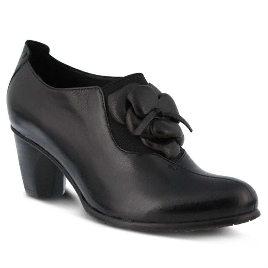 Edwardian Shoes & Boots | Titanic Shoes Spring Step Womens Shoes - Evelina in Black $149.99 AT vintagedancer.com