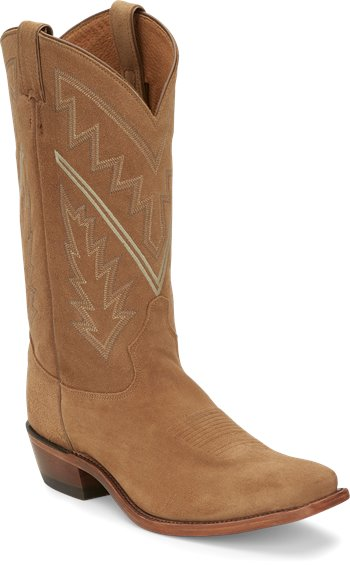 Image for BINGHAM TAN SUEDE ALL OVER boot; Style# 7965
